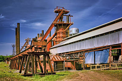 Photograph - Sloss Furnaces - 2 - Birmingham by Nikolyn McDonald
