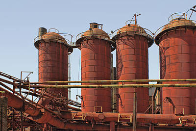 Photograph - Sloss Furnaces - 4 - Birmingham by Nikolyn McDonald