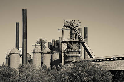 Blast Photograph - Sloss Furnaces National Historic by Panoramic Images