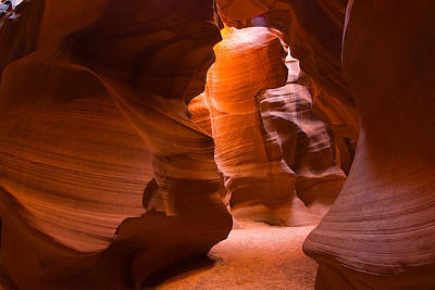 Photograph - Slot Canyon by Harry Spitz