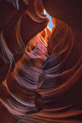 Photograph - Slot Canyon Slices by Art Cole