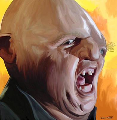 Painting - Sloth From Goonies by Brett Hardin