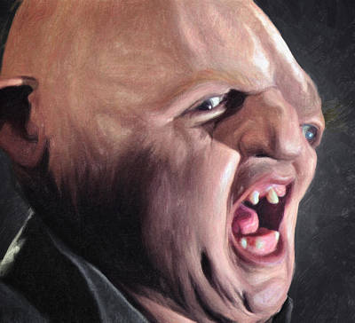Goonies Painting - Sloth by Zapista