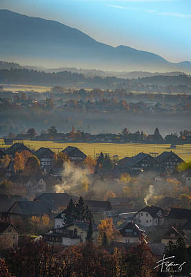 Photograph - Slovania Lanscape by Francisco Gomez