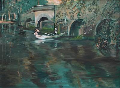 Slow Boat - Lmj Art Print