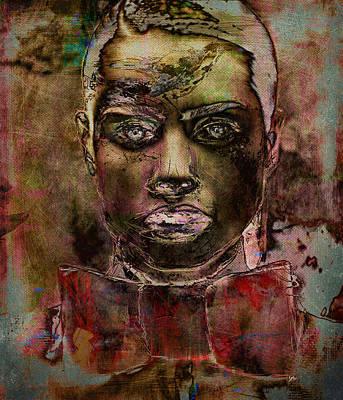 Avant Garde Mixed Media - Slow Burn by Velarde Moeckel