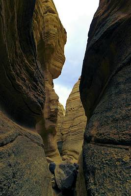 Slot Canyon Within The Tent Rocks Art Print