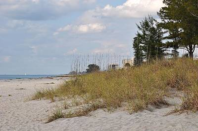 Photograph - Slow Day At The Beach 2 by John Hintz