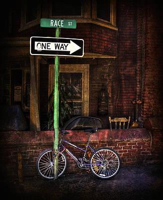 Slow Down On The Race Street Art Print by Evelina Kremsdorf