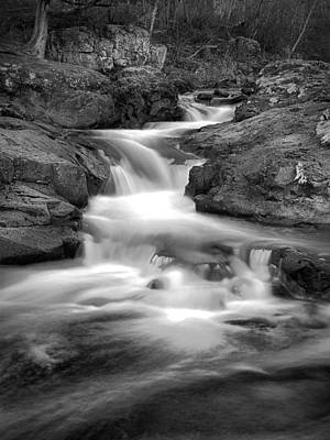 Photograph - Slow Me Down The River by CA  Johnson