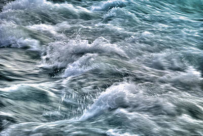 Photograph - Slow Motion Rapids by Tammy Wetzel