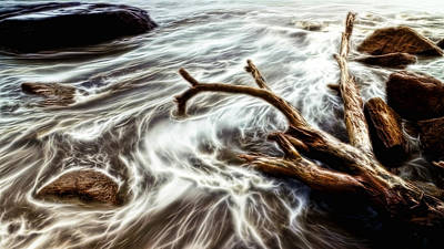 Photograph - Slow Motion Sea by Cameron Wood