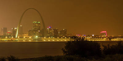Photograph - Slow Rain Over St Louis by Garry McMichael