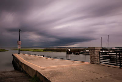 Photograph - Slow Summer Storm by Robin Blaylock