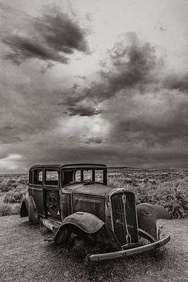 Petrified Forest Arizona Photograph - Slower Times by Joseph Smith