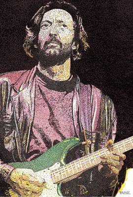 Slowhand Painting - Slowhand by Rob Payne