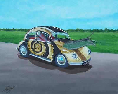 Slug Bug Art Print