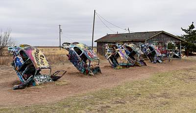 Photograph - Slug Bug Ranch Vws by rd Erickson