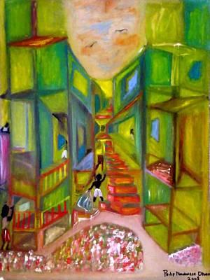 Slum Art Print by Philip Okoro