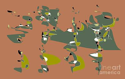Digital Art - Slumber Party 2 by Nancy Kane Chapman