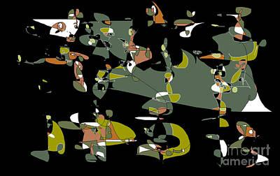 Digital Art - Slumber Party by Nancy Kane Chapman