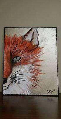 Personalized Name License Plates - Sly Fox by Siobhan Hollowell