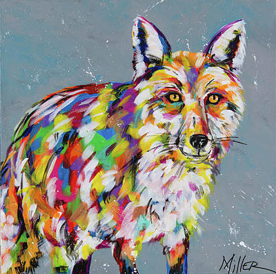 Sly Fox Art Print