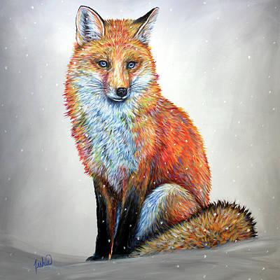 Painting - Sly by Teshia Art