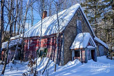 Photograph - Small Abandon House by Alana Ranney
