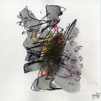 Painting - Small Abstract #2  by Rick Baldwin