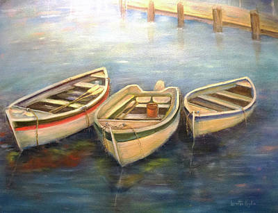 Painting - Small Boats by Loretta Luglio