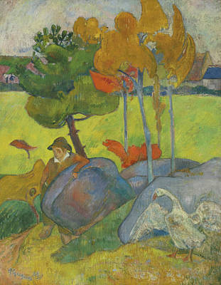 Painting - Small Breton  by Paul Gauguin