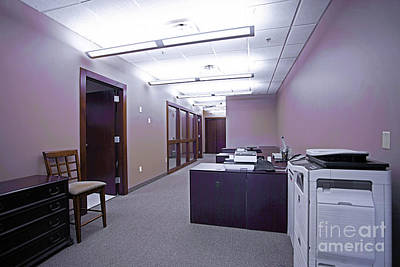 Photograph - Small Business Office by Richard Lynch