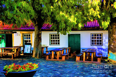Photograph - Small Cafe Braga by Rick Bragan