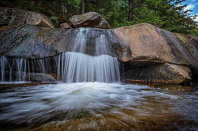 Photograph - Small Cascade In Grafton Notch by Rick Berk