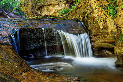 Photograph - Small Cascade  by James Marvin Phelps