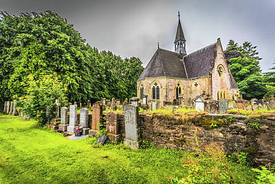 Photograph - Small Church by Bill Howard