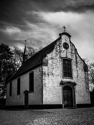 Small Church Art Print by Wim Lanclus