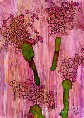 Painting - Small Clusters by Angela L Walker