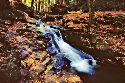 Photograph - Small Falls 001 by Scott McAllister