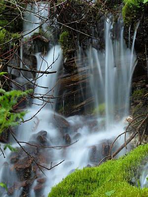 Photograph - Small Falls by DeeLon Merritt