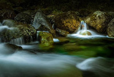 Photograph - Small Falls In A Big Rush by Brad Koop