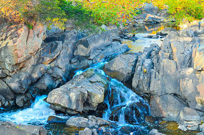 Photograph - Small Falls On Great Falls Of The Potomac by Jeff at JSJ Photography
