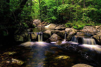 Photograph - Small Falls by Sherman Perry