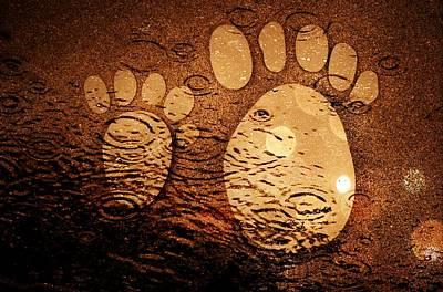 Small Feet And Big Feet 3 Art Print by Jean Francois Gil