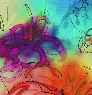 Painting - Small Flower 1 by Barbara Pease