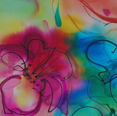 Painting - Small Flower 5 by Barbara Pease