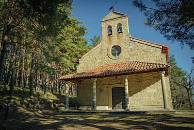 Photograph - Small Gredos Chapel by Henri Irizarri