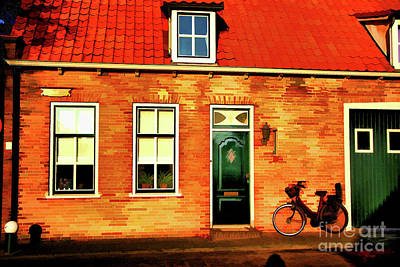 Photograph - Small House In Delft by Rick Bragan