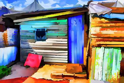 Digital Art - Small House by Rick Bragan